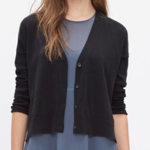 Madewell cropped cotton cardigan